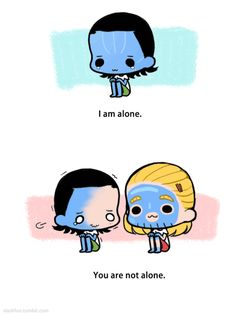 AWz, Thor painted his face to make Loki feel better! Thor would make a lame iceman, haha! XD Loki just makes an emo iceman!