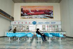 Pyongyang Airport - Duty Free Shop by 55pixels .net on 500px
