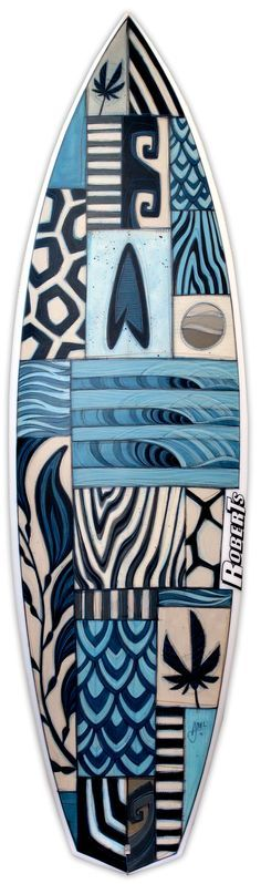 Very cool surf board! - The Board Art Benefit is back with some beautiful new designs. This benefit brings shapers and artists together to raise funds for Surf Aid International. The boards created as a result of their collaborations are amazing. Inspiration Artistique, Posca Art, Surf Design, Design Design, Surfboard Art, Skate Surf, Surf Style, Oeuvre D'art, Art Boards