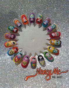 nancymcnails: Matryoshka dolls | fuck yeah nail art!