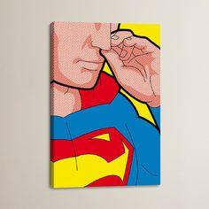 "Brayden Studio 'Super Bogie' by Gregoire ""Leon"" Guillemin Graphic Art on Wrapped Canvas Size: 40"" H x 26"" W x 1.5"" D"