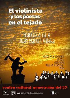 Publicidad  Generación del 27. Francisco Gil & Juan Manuel Villalba.