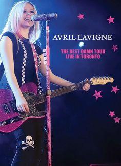 Avril Lavigne #TBDT live in Toronto 2008