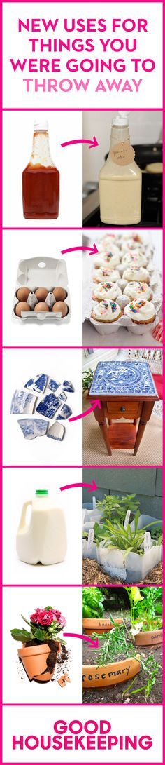 An egg carton is never just an egg carton! Before you find yourself with nowhere to put your perfect cupcakes, you might want to reconsider tossing it. Same goes for all those  super-useful paper towel tubes, tissue boxes, and other DIY projects in disguise.