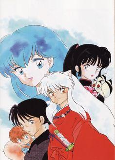 Rumiko Takahashi, Inuyasha, Sango, Miroku , Kagome Higurashi