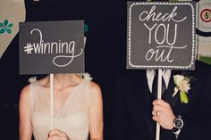 photo-booth chalkboards