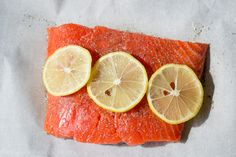 Pioneer Woman's Perfect Salmon as prepared by Kennan Family Huddle