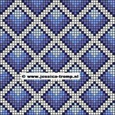 Bargello Patterns, Tapestry Crochet Patterns, Loom Knitting Patterns, Bead Loom Patterns, Knitting Charts, Knitting Stitches, Cross Stitch Patterns, Sock Knitting, Knitting Tutorials