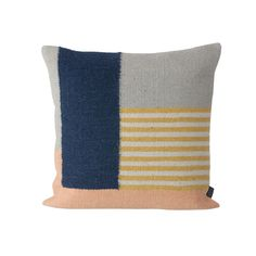 Graphic Woven Cushion - Lines