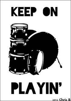 Keep on Playing Drums ! Available for Men & Woman on http://lazymusic.spreadshirt.fr