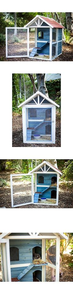 Cages and Enclosure 63108: Advantek Row House Rabbit Hutch -> BUY IT NOW ONLY: $360.99 on eBay!