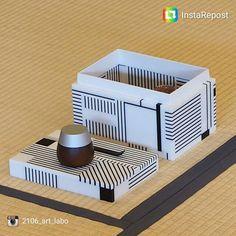modern chabako by Hideto Sato