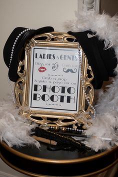 Great Gatsby Photo Booth Props
