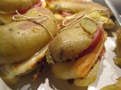 Paupiette de pommes de terre façon tartiflette