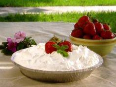Paula Deen Strawberry and Cream Pie