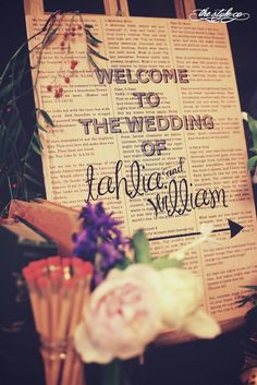I would love to have something like this in the entrance way of my reception, again with the little suitcases on the floor, with books and flowers on top of them!