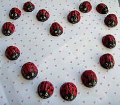 Crack of Dawn Crafts: Valentine Lady Bug Racers