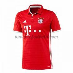 Billige Fodboldtrøjer Bayern Munich 2016-17 Kortærmet Hjemmebanetrøje