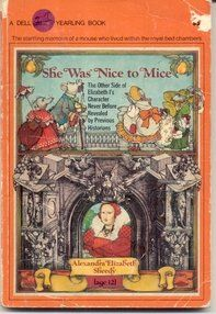 She Was Nice to Mice - Alexandra (Ally) Sheedy; yes, the actress!  My Grandma bought this book for me and I adored the idea that a young girl my age wrote it. I was also 12.  I still have this book - a wonderful story.