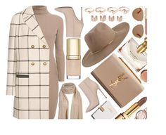 """""""Beige Vibe"""" by monmondefou ❤ liked on Polyvore featuring Calvin Klein, Yves Saint Laurent, Rumour London, Tory Burch, Akira Black Label, Marc by Marc Jacobs, Eddie Borgo, Dolce&Gabbana, Smith & Cult and Zimmermann"""