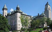 City Hall of Quebec City and the Price Buildling.
