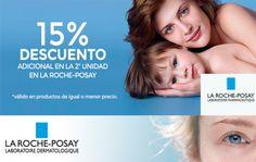 15% de descuento en la 2ª unidad de Roche-Posay en Mi farma