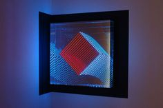 Infinite Artworks Made with Plexiglas, Mirrors and LEDs