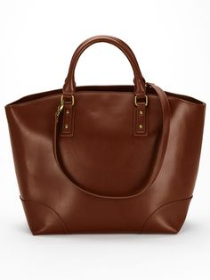 Layla Spot Lined Tote Bag - Brown | Very.co.uk