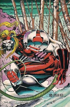 Omega Red by Jim Lee (Marvel comics)