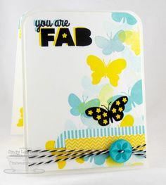 Washi Patterns; Blissful Butterflies; Bold Statements; Washi Tape Die-namics; Blissful Butterflies Die-namics; Scattered Stars Die-namics - Cindy Lawrence