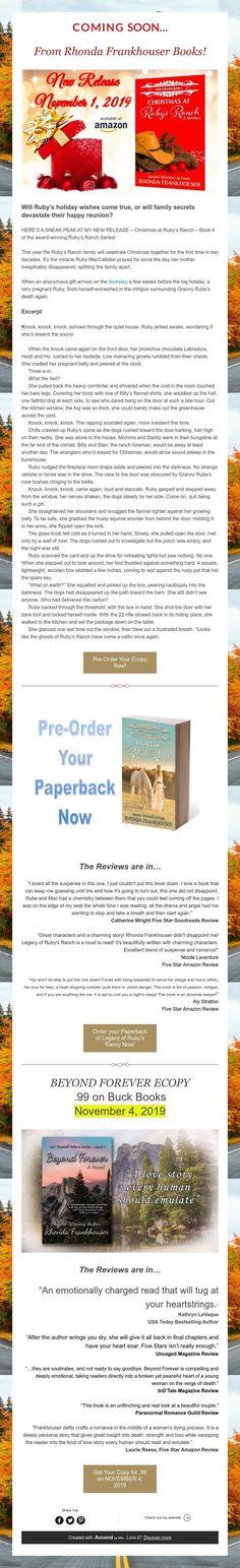 From Rhonda Frankhouser Books!