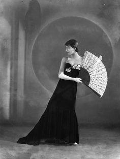 Margot Fonteyn by Bassano Ltd whole-plate film negative, 1936