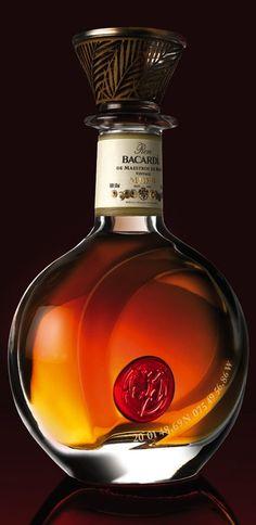 Bacardi Rum 150th Anniversary Celebration Decanter. Puerto Rico Rum