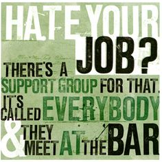 Funny card by Urban Graphic Hate your job?