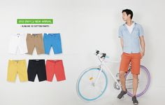 Slim cotton pants for summer wear (From S$27.00)