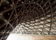 City Form Lab, ARUP, Singapore, digital fabrication, computational fabrication, temporary structure, temporary pavilion, catenary arch, timb...