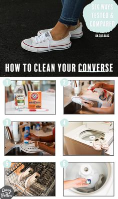 3ed3a3a0a0a5 How to Clean Your Converse  6 Methods Put To The Test!