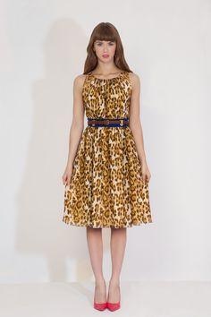 4G by Gizia SS/2013 #4GbyGizia #leopard #animalprint #4G