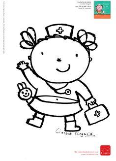 Ik ben Kaatje. Vandaag voel ik me slapjes. Ik heb koorts. Mama neemt me mee naar de dokter. Die onderzoekt me helemaal. Ze geeft een briefje voor de apotheker mee en belooft dat ik gauw weer beter word. Abraham And Sarah, Painted Rocks, Hello Kitty, Crafts For Kids, Preschool, Teaching, Feelings, Fictional Characters, Image