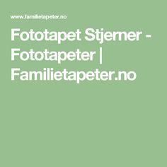 Fototapet Stjerner - Fototapeter | Familietapeter.no