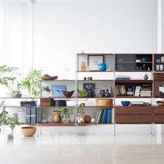 リビング・寝室で使う - Unit Shelf | Compact Life | 無印良品