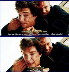 Well Sherlock, that's what you get for keeping john in the dark for 2 YEARS!!!!!