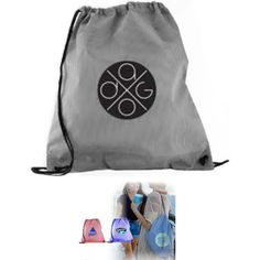 Carry your #business to new heights with the ticking back sack! This drawstring backpack is made from 210 denier polyester and features a ticking stripe print with grommets. This bag comes in three beautiful colors, making your custom imprint stand out amongst the crowd. This bag is great for #tradeshows, #hiking, #sporting #events, or #university welcome #promotions. Make the most of your next #event with the classic ticking backpack! Exclusive...