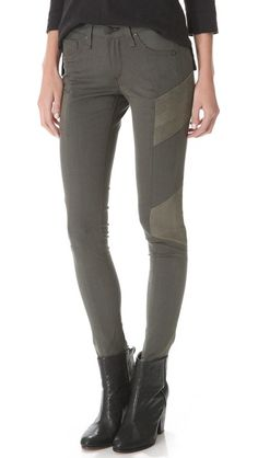 Rag and Bone Halifax legging jeans.