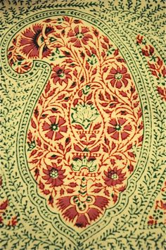 paisley- colors for future rug