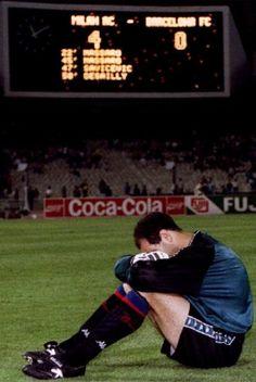 Final Copa de Europa 1994, AC Milan 4-0 FC Barcelona  Una derrota muy dura.El…