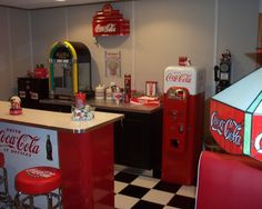 Coke Theme Design, Pictures, Remodel, Decor and Ideas