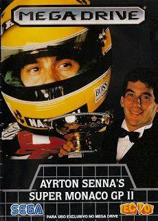 Emularoms: Ayrton Senna's Super Monaco GP II (BR) [ SMD ]