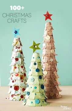 Celebrate the season with hundreds of our favorite Christmas crafts! Pin now for our best ideas: http://www.bhg.com/christmas/crafts/?socsrc=bhgpin112013christmascrafts