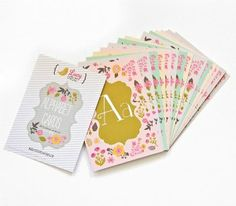 Lucy Darling Alphabet Cards!